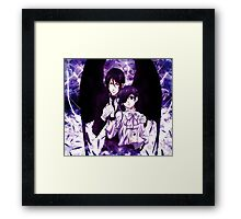 demon wings of safety  Framed Print