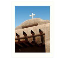 Santo Tomas Church Detail Art Print