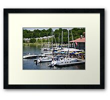 Some More Boats Framed Print