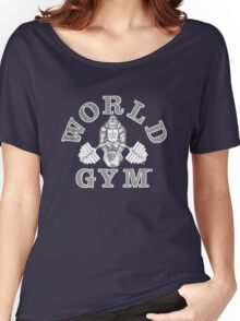 funny tshirt, GYM Women's Relaxed Fit T-Shirt