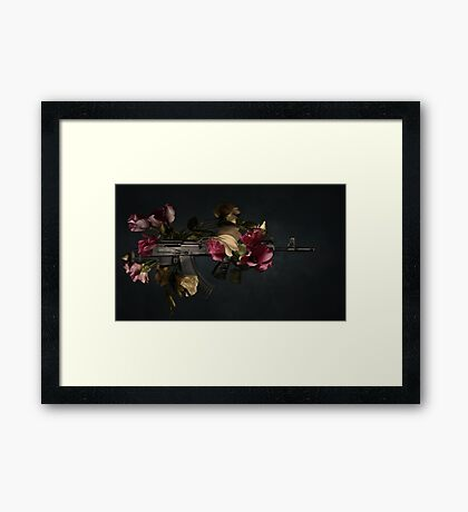 Guns 'n roses Framed Print