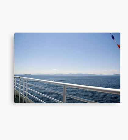 On board Canvas Print