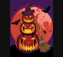 Pumpkins and Red Moon Unisex T-Shirt