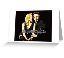 Gillian and David aka Schmoopies Greeting Card
