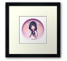 Cute anime girl Framed Print