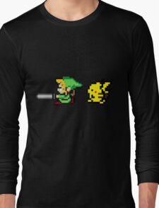 Link and Pikachu Long Sleeve T-Shirt