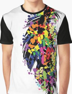 Colorful feather Graphic T-Shirt