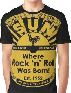 Sun Records : Where Rock N' Roll Was Born Graphic T-Shirt