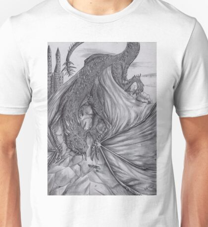 Hungarian horntail - BW Unisex T-Shirt