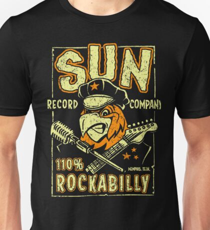 Sun Records : 110 % Rockabilly Unisex T-Shirt