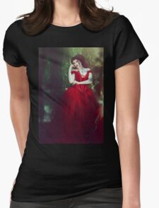 Crimson Queen III Womens Fitted T-Shirt
