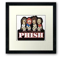 PHISH Group Framed Print