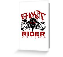 GHOST RIDER Greeting Card