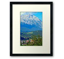 Silz, Land Tirol, Austria Framed Print