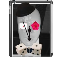 Living by chance by Darryl Kravitz iPad Case/Skin