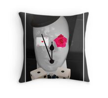 Living by chance by Darryl Kravitz Throw Pillow