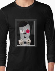 Living by chance by Darryl Kravitz Long Sleeve T-Shirt