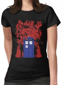 They Have The Phone Box... Womens Fitted T-Shirt
