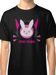 I play to win - Overwatch Classic T-Shirt