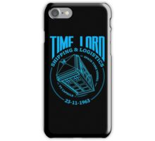 Time Lord Shipping & Logistics iPhone Case/Skin