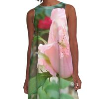 Rose Rose with bug A-Line Dress