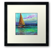 Sailboat Cruise Framed Print