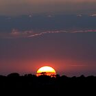 Sunset over Newhaven by mikebov