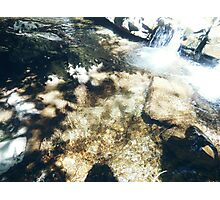 Water Flowing Photographic Print