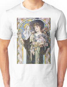 Alphonse Mucha - La Tosca Unisex T-Shirt