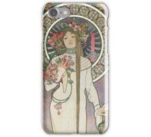 Alphonse Mucha - La Trappistine iPhone Case/Skin