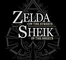 Zelda on the Streets by Zhivago