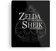 Zelda on the Streets Metal Print