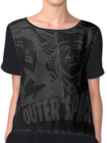 They Came From Outer Space! Chiffon Top