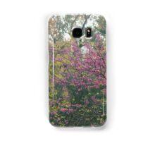 Judas tree in bloom Samsung Galaxy Case/Skin