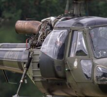 British Army Westland Scout Helicopter Sticker