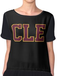 CLE cleveland basketball champion 2016 Game 6 Finals Chiffon Top