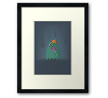 Pac-Man Ghost Framed Print