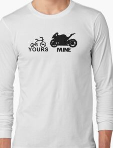 yours mine Long Sleeve T-Shirt