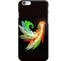Colorful Bird  fractal abstract iPhone Case/Skin