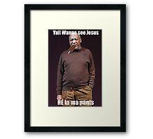 A new Kinda Cosby Framed Print