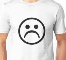 Sad Boy Face [Black] Unisex T-Shirt