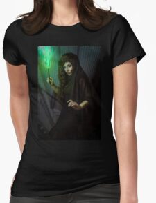 Witch 1 Womens Fitted T-Shirt