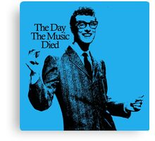 The Day The Music Died, Buddy Holly Canvas Print