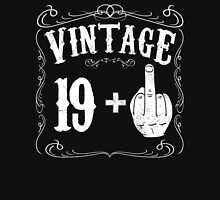 Vintage middle finger salute 20th birthday gift funny 20 birthday 1996 Unisex T-Shirt