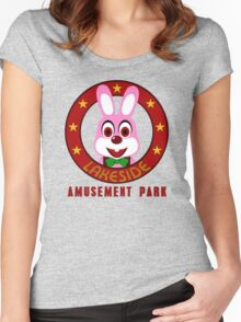 Lakeside Amusement Park Women's Fitted Scoop T-Shirt