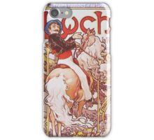 Alphonse Mucha - Luchon La Reine Des Pyreneesluchon Queen Of The Pyrenees iPhone Case/Skin