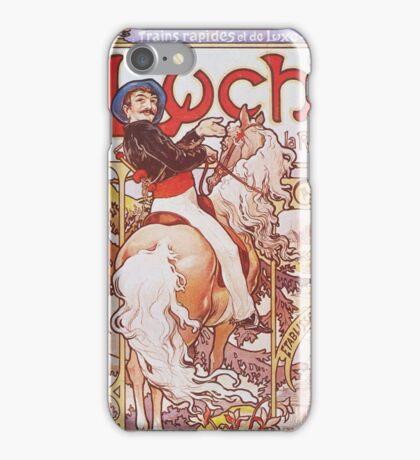 Alphonse Mucha - Luchon La Reine Des Pyreneesluchon Queen Of The Pyrenees iPhone Case/Skin