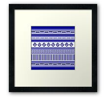 Pattern 4 Framed Print