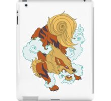Hound of fire iPad Case/Skin