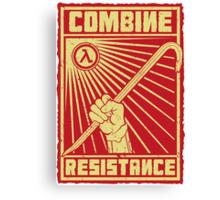Combine Resistance Canvas Print